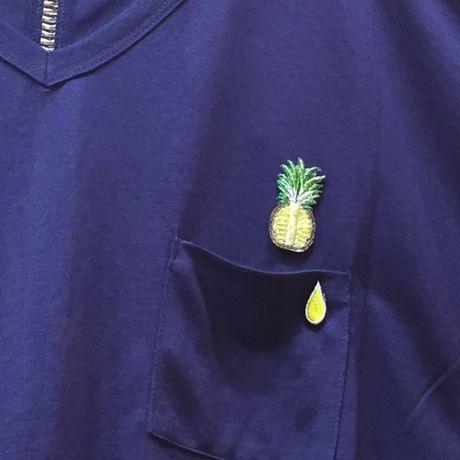 パインワッペン写真Tシャツ