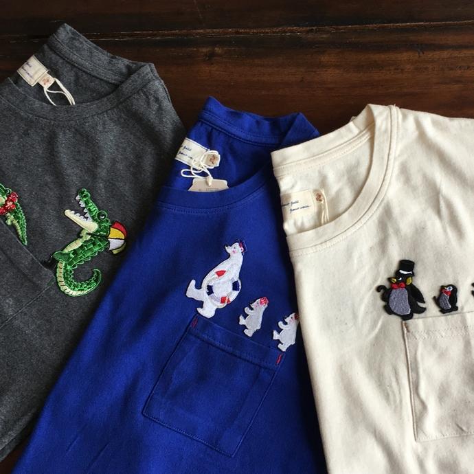 行進ワッペン刺繍Tシャツ-01