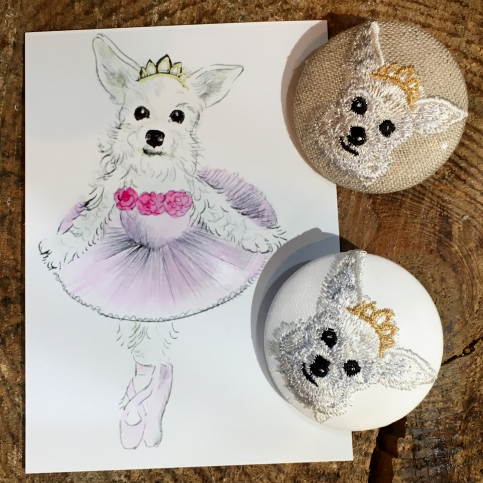 オーダー犬刺繍-02