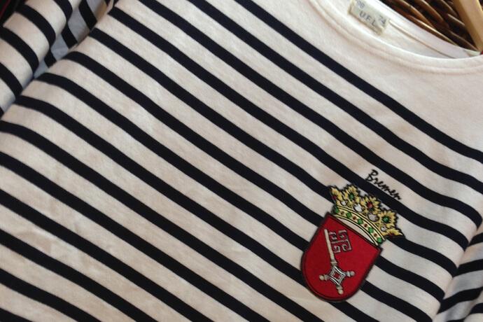 ブレーメンの持ち込み刺繍Tシャツ