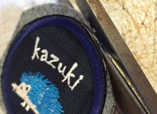 ハンドメイドでの刺繍ワッペン制作工程