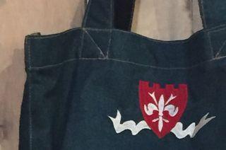 刺繍バッグ メヌイアン店舗限定販売品