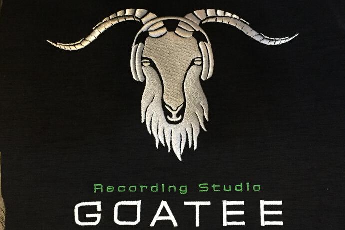 オーダーメイド刺繍の例 GOATEEスタジオ