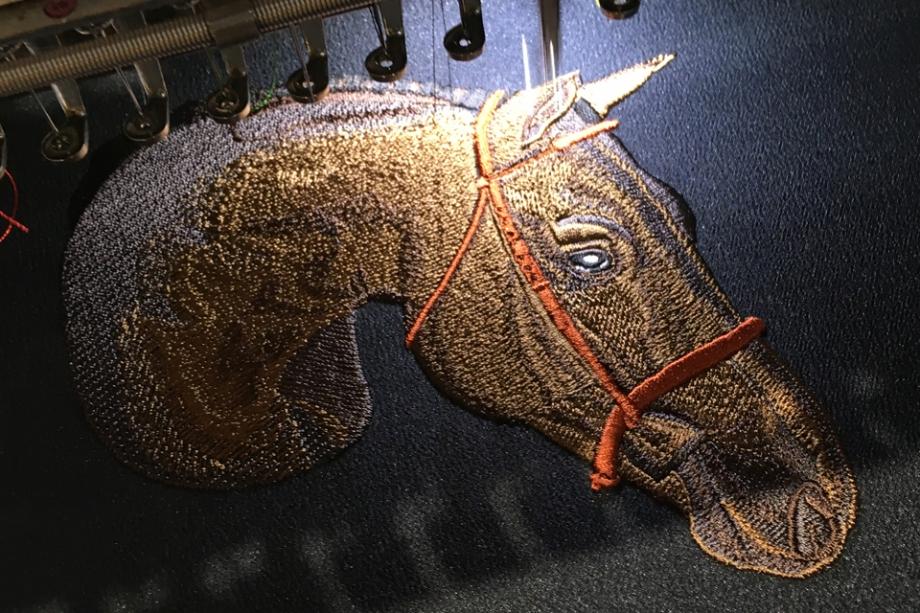 お馬さんオーダーメイド刺繍