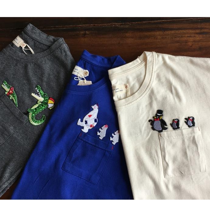 行進刺繍Tシャツ-04