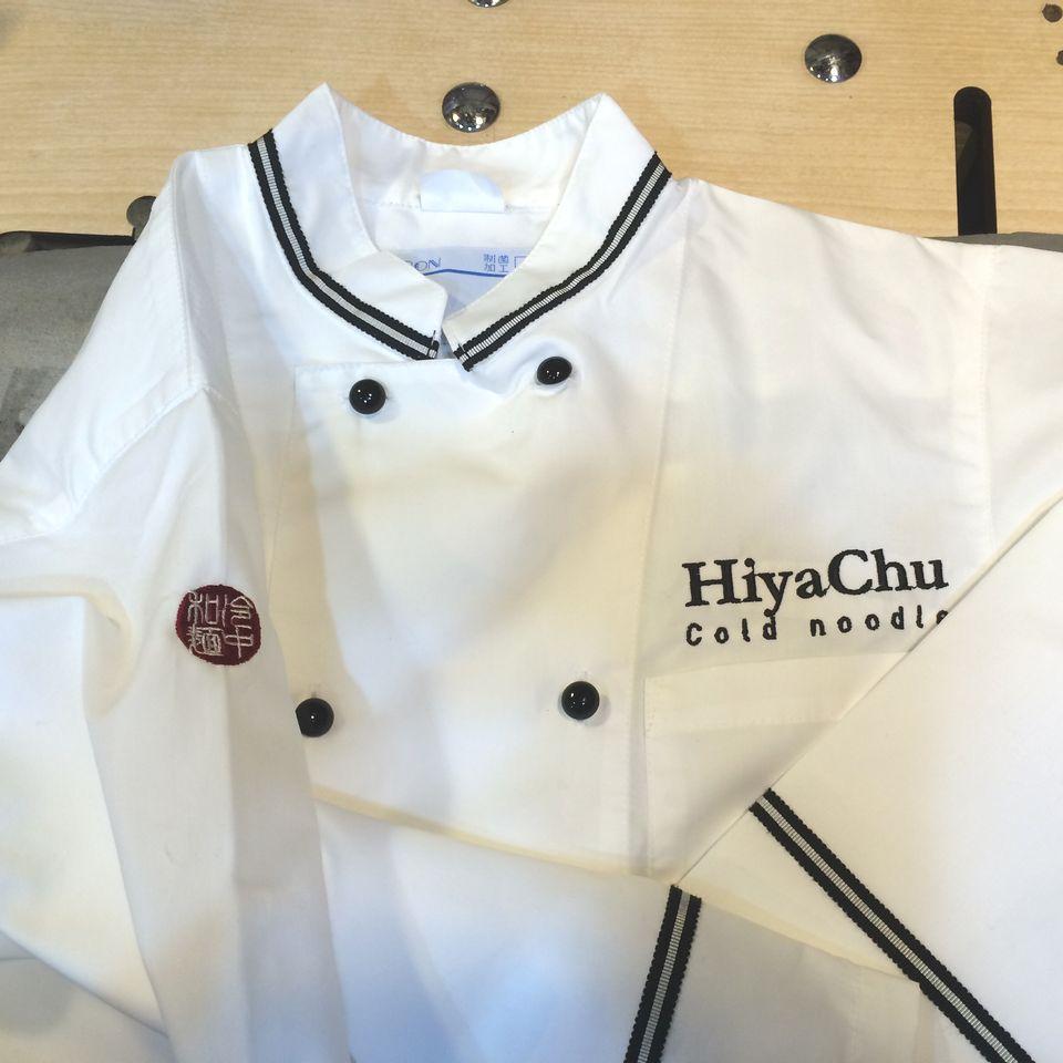 HiyaChu刺繍オーダーコックコート全体