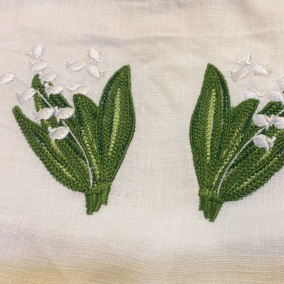 オーダーメイド刺繍/スズラン