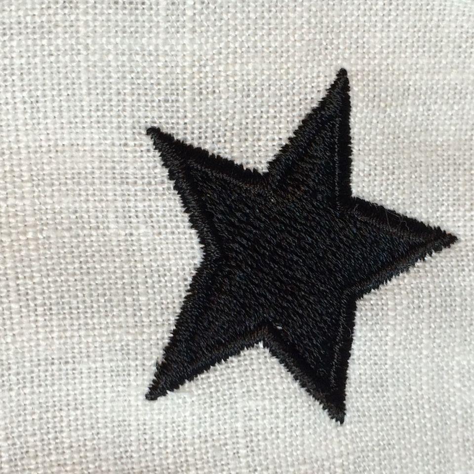 オーダーメイド刺繍/星アップ