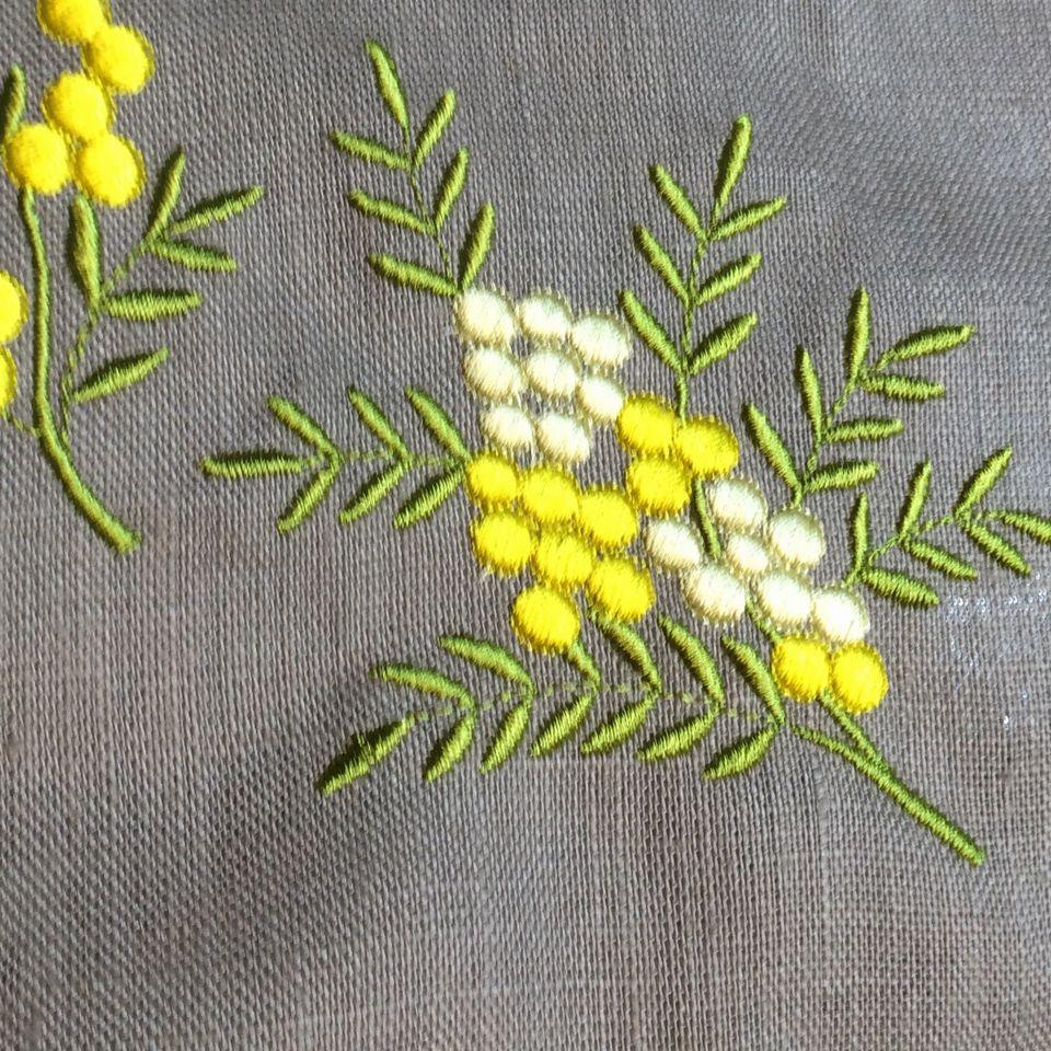 オーダーメイド刺繍/ミモザアップ