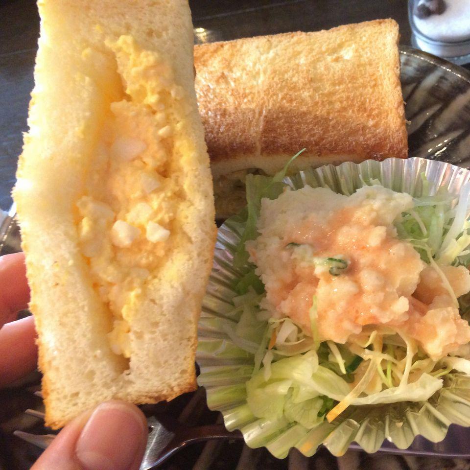 武蔵野文庫サンドウィッチアップ卵味