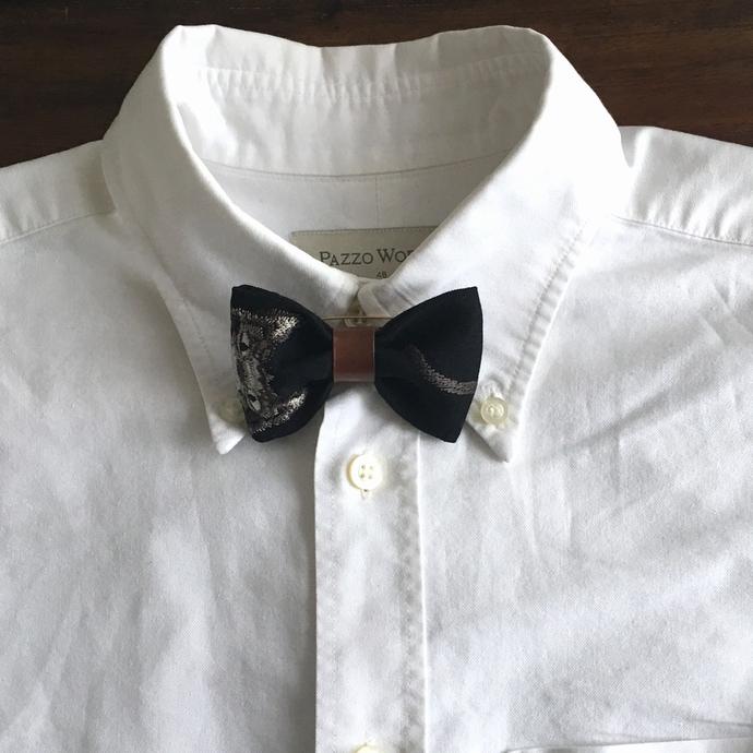 蝶ネクタイ/ネコしっぽシャツ