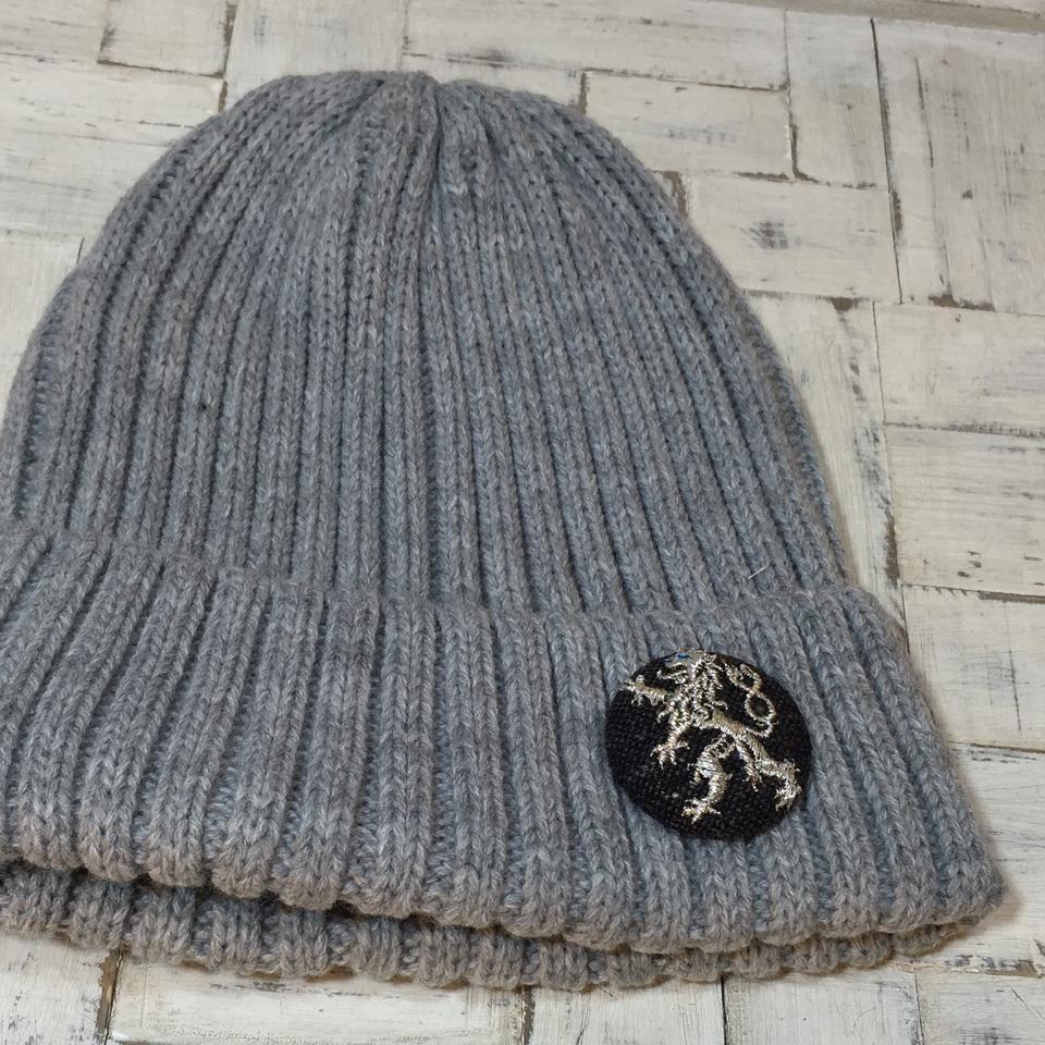 Czech切手/ライオンsilver38ボタン帽子