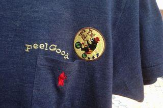完成したオリジナルTシャツのアップ