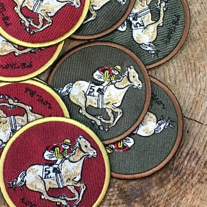 オーダー刺繍ワッペン騎馬-04