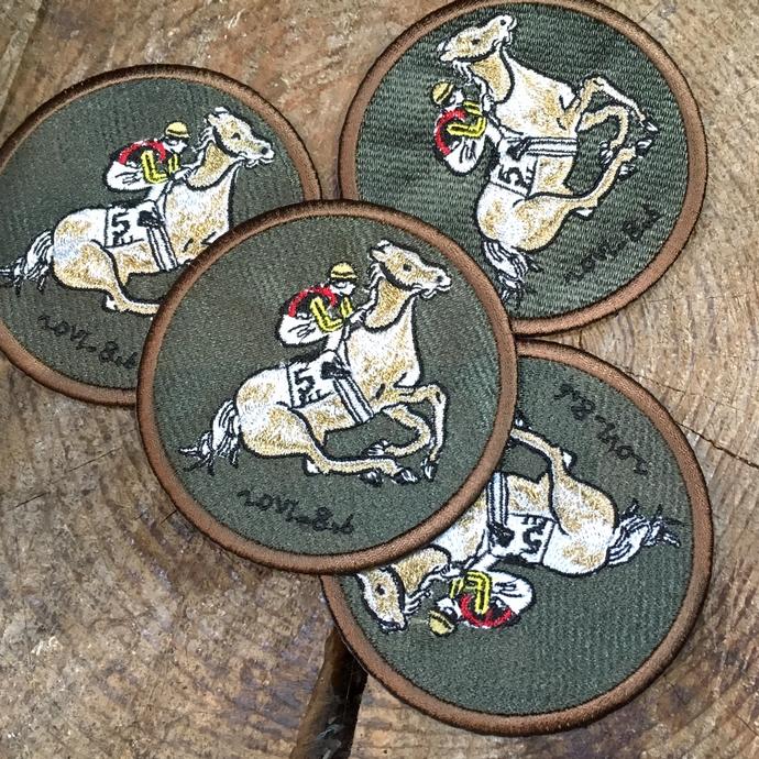 オーダー刺繍ワッペン騎馬-03