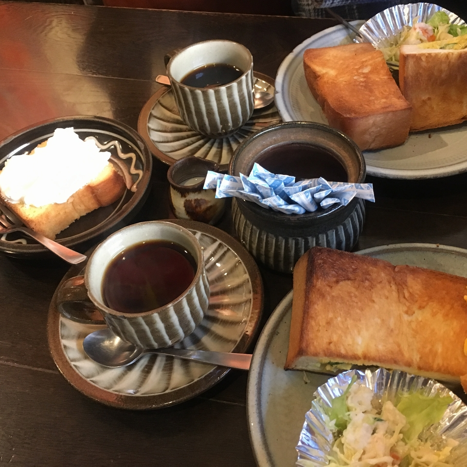 茶房 武蔵野文庫サイドから全体写真