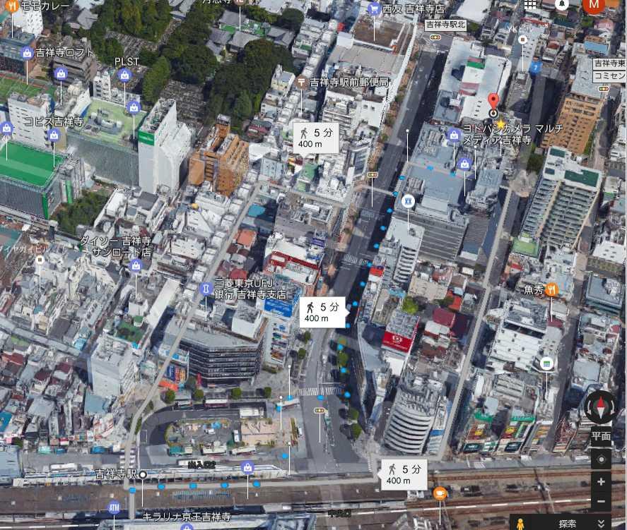 Googleマップmimi刺繍3d航空地図