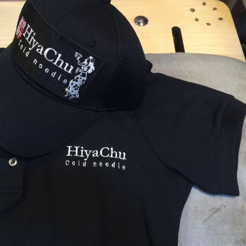 HiyaChu刺繍オーダーポロシャツ