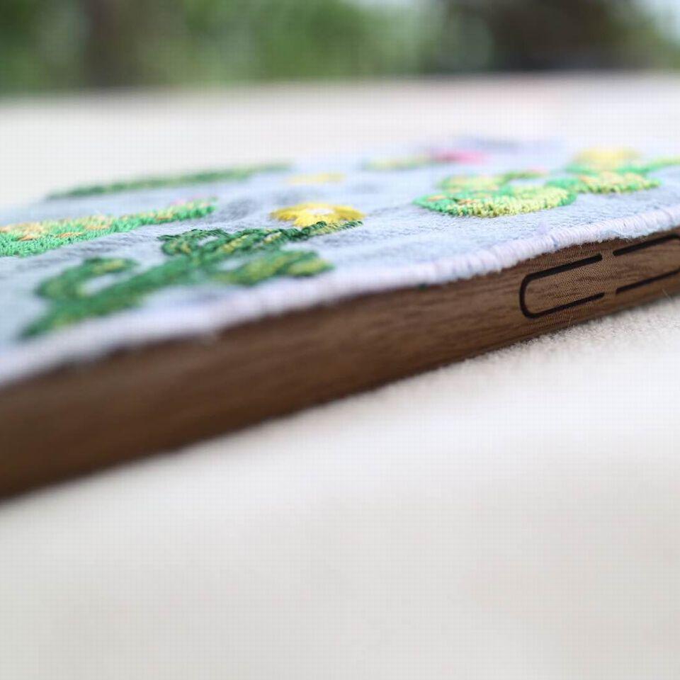 iPhone刺繡2