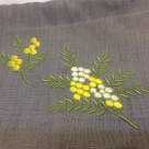 オーダーメイド刺繍/ミモザ2