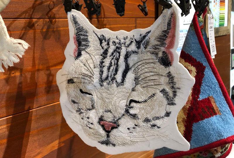 刺繍のオーダーメイド作品の例