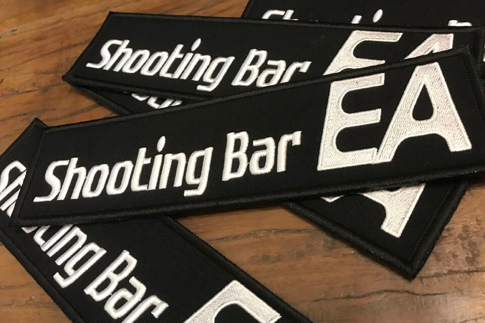 Shooting Bar EA様のネームワッペン