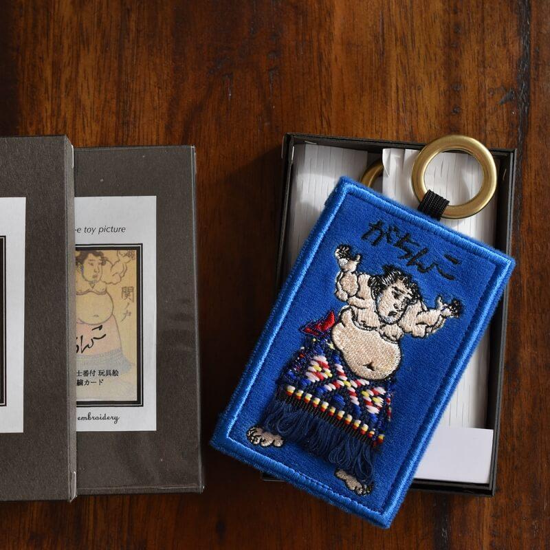 浮世絵_相撲番付カードBLがちんこ箱並べ