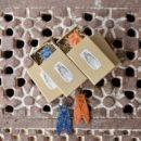 セミ[Cicada]北欧風刺繍ブローチ