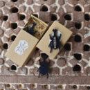 カブトムシ[Beetle]北欧風刺繍ブローチ