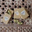 ミツバチ[Bee]北欧風刺繍ブローチ