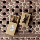 クワガタ[Stag beetle]北欧風刺繍ブローチ