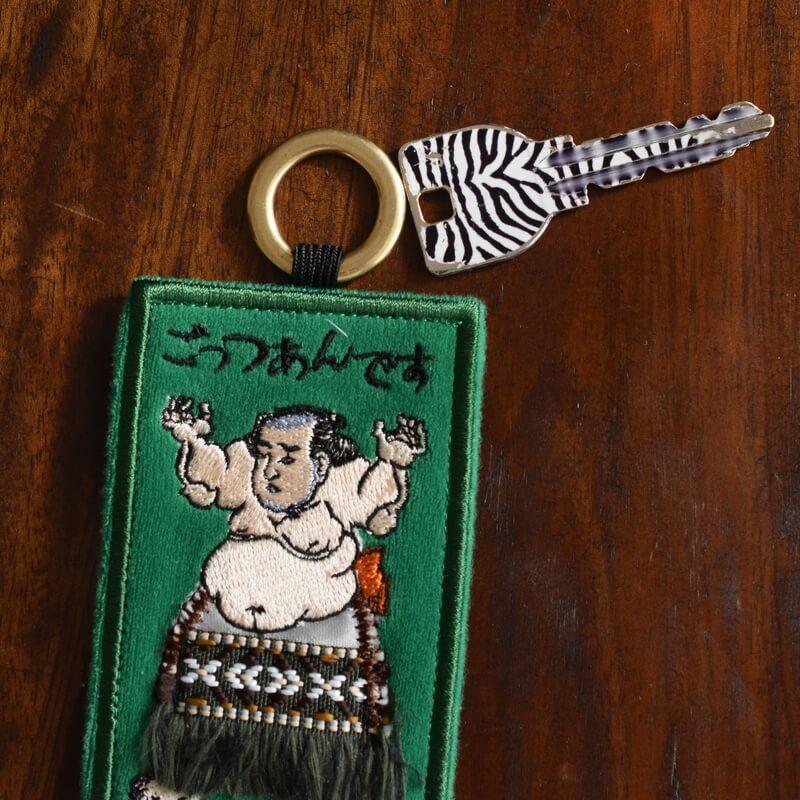 浮世絵_相撲番付カードGRごっつぁんです鍵