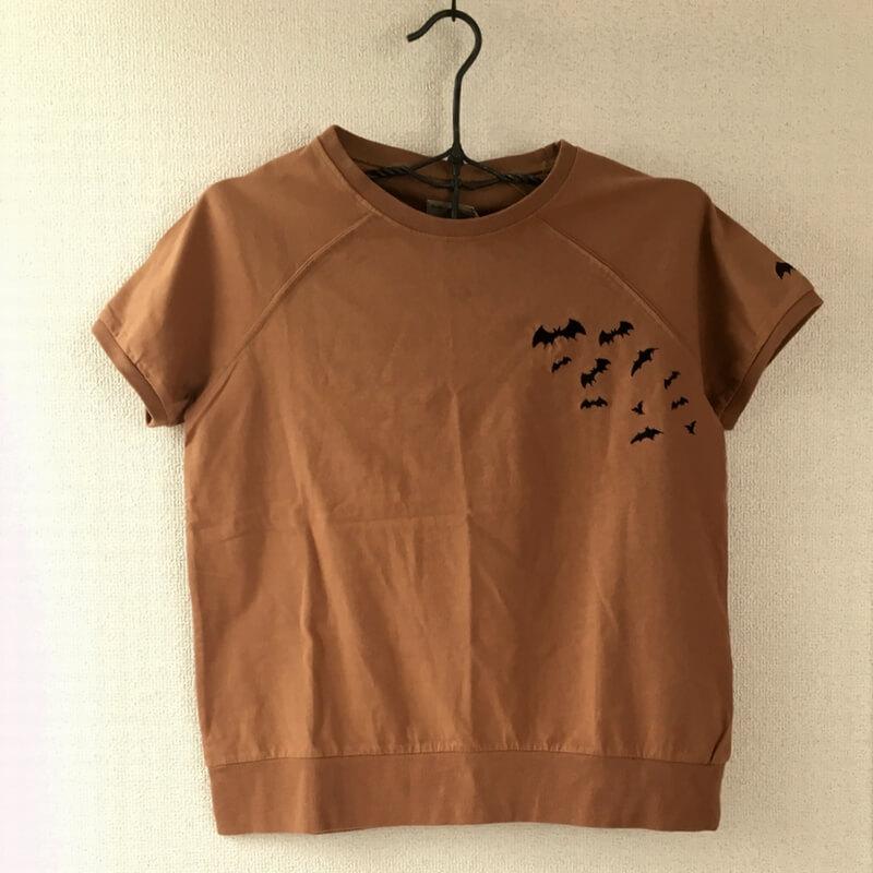 コウモリ刺繍TシャツハンガーCA