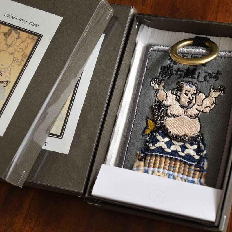 相撲番付カードGY発気揚々箱入り1個