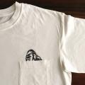 のぞくゴリラ刺繍Tシャツひらおき