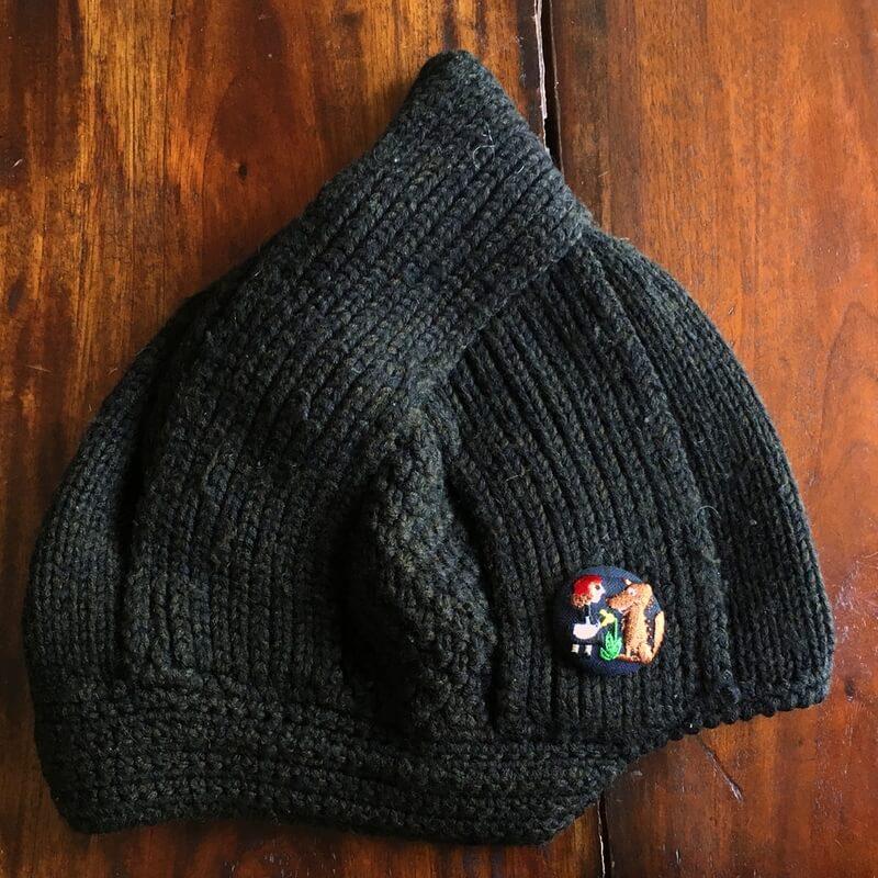 赤頭巾ちゃん刺繍くるみ38帽子