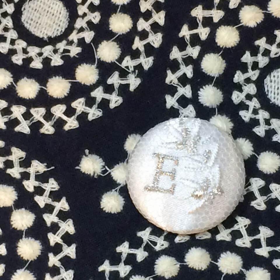オリーブの枝[イニシャル刺繍サイド