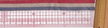 刺繍ネームタグ用テープリボン180トリコロールカラー