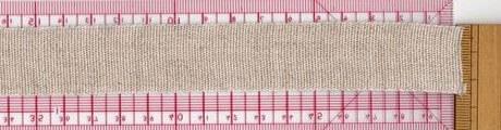 刺繍ネームタグ用テープリボン240fnナチュラル
