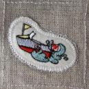 ボート[スポーツ]刺繍図案ステッカー