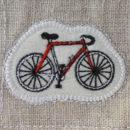 サイクリング[スポーツ]刺繍図案ステッカー