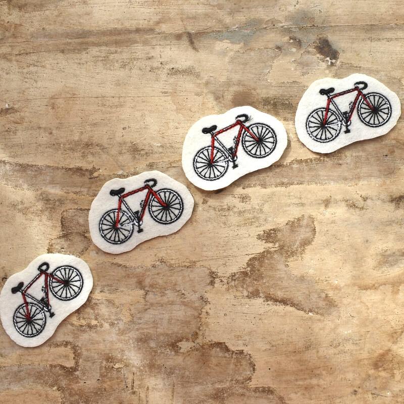 サイクリング刺繍ET
