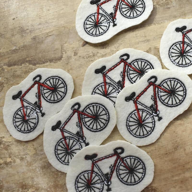 サイクリング刺繍ツアー