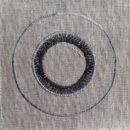 アンティークプレート絵皿[ロイヤル]刺繍図案