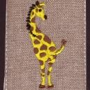 キリンHIP 刺繍図案/デザイン