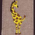 刺繍図案キリンヒップスキャンサンプル