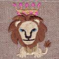 ライオンキング[動物]刺繍図案デザイン