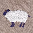 メリーさんの羊[動物]刺繍図案デザイン