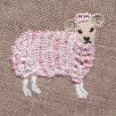 金羊毛のひつじSHEEP[動物]刺繍図案デザイン