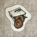 ドーナツ[スイーツ]刺繍図案ステッカー